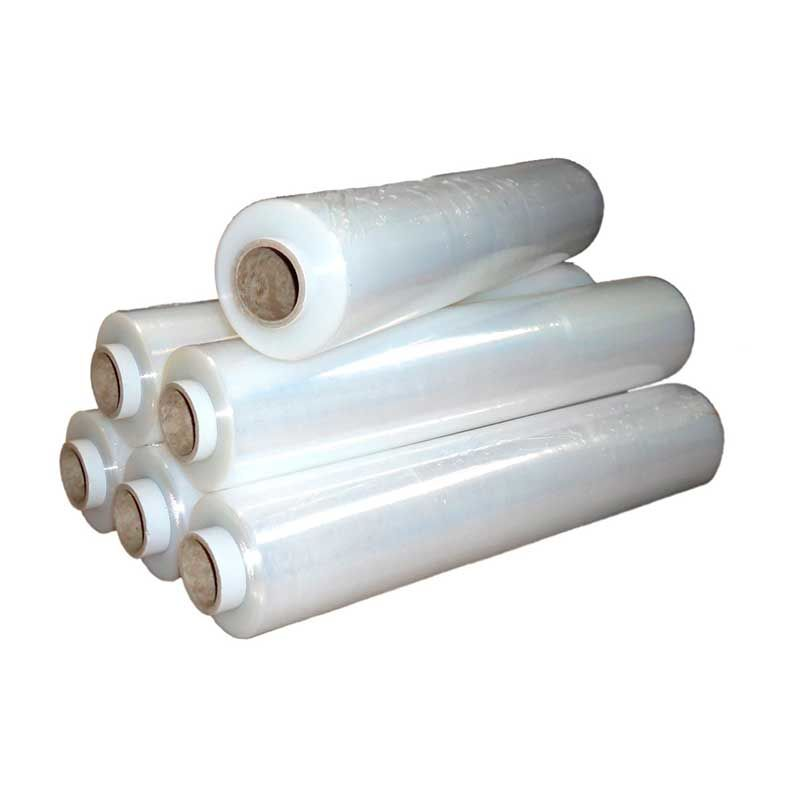 Стрейч пленка для ручной упаковки 500мм, 20мкм, вес 2,7 кг