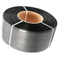 Лента полипропиленовая упаковочная 15мм х 1,0мм х 1200м черная
