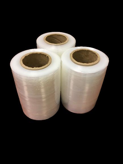 Стрейч пленка для ручной упаковки 125мм, 20мкм, вес 0,5 кг